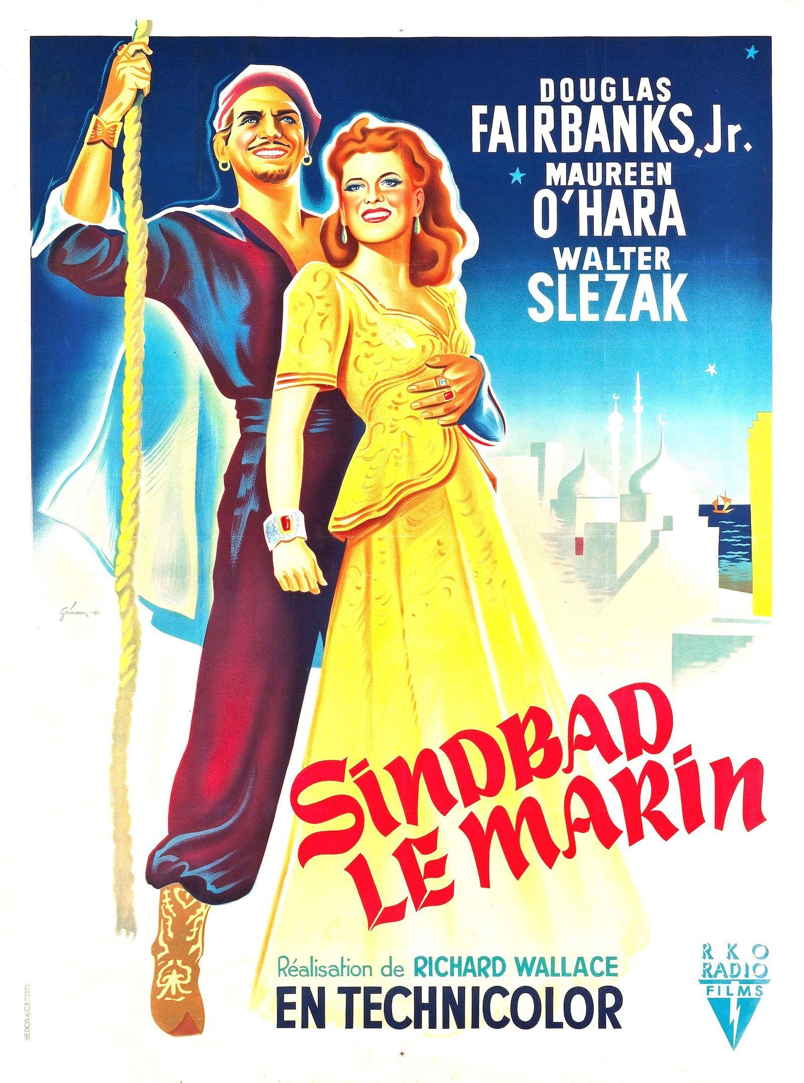 Sinbad le Marin - Film (1947) - SensCritique