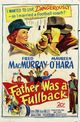 Affiche Father Was a Fullback