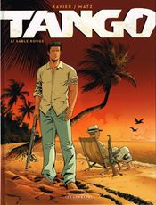 Couverture Sable rouge  - Tango, tome 2