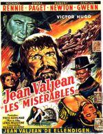 Affiche La Vie de Jean Valjean