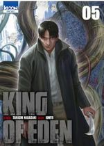 Couverture King of Eden, tome 5