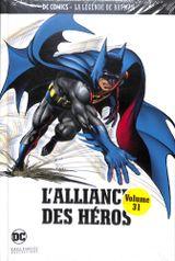 Couverture L'Alliance des Héros - La Légende de Batman, tome 31