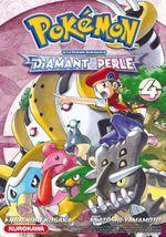 Couverture Diamant et Perle - Pokémon : La Grande Aventure, tome 4