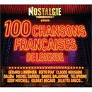 Pochette Nostalgie présente : 100 chansons françaises de légende