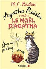 Couverture Agatha Raisin enquête - Le Noël d'Agatha