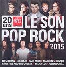 Pochette RTL 2 : Le son pop rock 2015