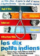 Affiche Les Dix Petits Indiens