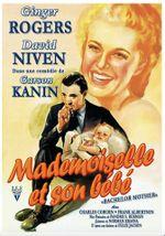 Affiche Mademoiselle et son bébé