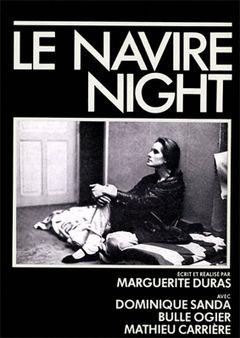 Affiche Le Navire Night