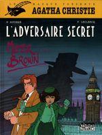 Couverture L'adversaire secret - Agatha Christie, tome 2