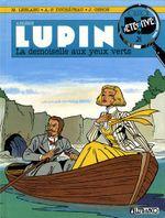 Couverture La Demoiselle aux yeux verts - Arsène Lupin, tome 4