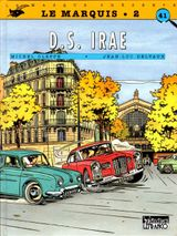 Couverture DS Irae - Le Marquis (CLE), tome 2