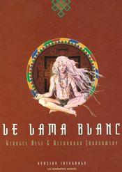 Couverture Le Lama blanc, intégrale