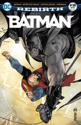 Couverture Batman Rebirth (DC Presse), tome 18