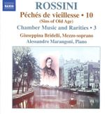 Pochette Péchés de vieillesse 10 (Sins of Old Age): Chamber Music and Rarities 3