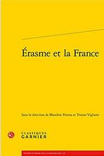 Couverture Erasme et la France