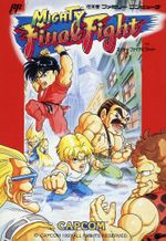 Jaquette Mighty Final Fight