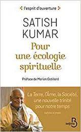 Couverture Pour une écologie spirituelle