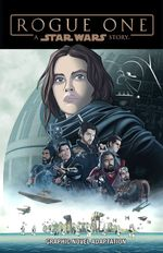 Couverture Star Wars: Rogue One Graphic Novel Adaptation