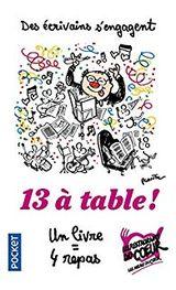 Couverture 13 à table !