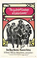 Affiche Cockeyed Cowboys of Calico County