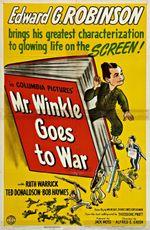 Affiche Monsieur Winkle s'en va-t-en guerre