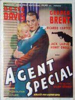 Affiche Agent spécial