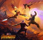 Couverture The Art of Avengers Infinity War