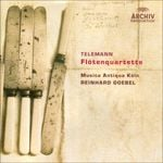 Pochette Telemann - Flute Quartets