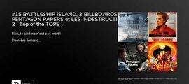 Vidéo Fin de séance (podcast) : Battleship Island / 3 Billboards / Pentagon Papers / Les indestructibles 2