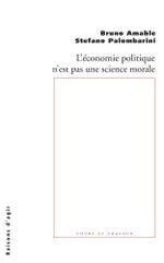 Couverture L'économie n'est pas une science morale