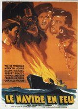 Affiche Le Navire en feu