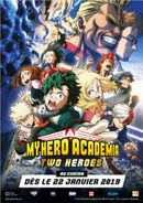 Affiche My Hero Academia The Movie: The Two Heroes