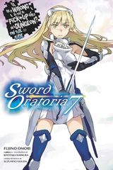 Couverture Is It Wrong to Try to Pick Up Girls in a Dungeon? On the Side: Sword Oratoria, Vol. 7 (light novel)