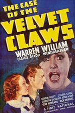 Affiche The Case of the Velvet Claws