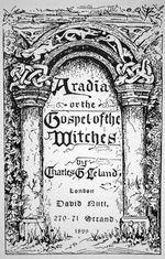 Couverture Aradia, ou l'évangile des sorcières