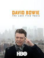 Affiche David Bowie - Les cinq dernières années