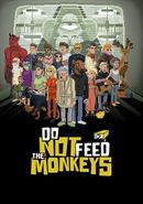 Jaquette Do Not Feed the Monkeys