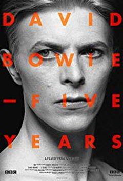 Affiche David Bowie en cinq actes