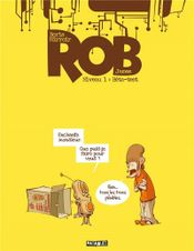 Couverture Bêta-test - Rob, tome 1