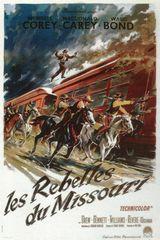 Affiche Les Rebelles du Missouri