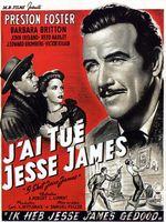 Affiche J'ai tué Jesse James