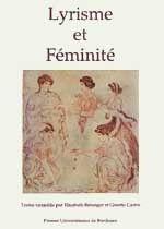 Couverture Lyrisme et féminité
