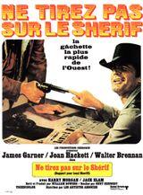 Affiche Ne tirez pas sur le shérif