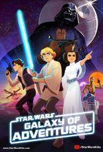 Affiche Star Wars Galaxy of Adventures
