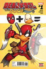 Couverture Deadpool the Duck