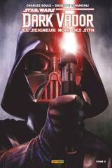 Couverture Dark Vador : Le Seigneur Noir des Sith, tome 2