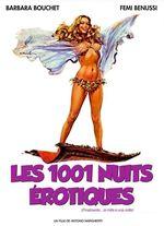 Affiche Les 1001 Nuits érotiques