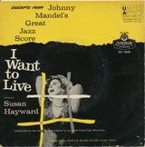 Pochette I Want To Live! Excerpts (OST)