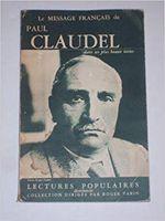 Couverture Paul Claudel dans ses plus beaux textes